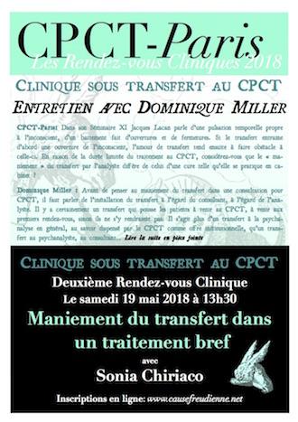 Entretien avec Dominique Miller – les rendez-vous cliniques du CPCT