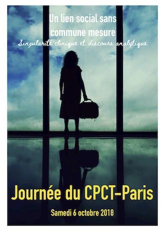 Le programme de la journée du CPCT-Paris – samedi 6 octobre 2018