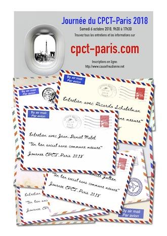 Entretien avec Pierre Sidon – Journée du CPCT-Paris – samedi 6 octobre 2018