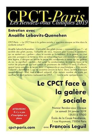 Premier entretien clinique 2019 – entretien avec Anaëlle Lebovits-Quenehen