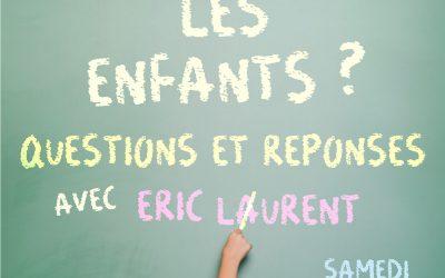 Journée du CPCT-Paris avec Eric Laurent – 28 septembre 2019
